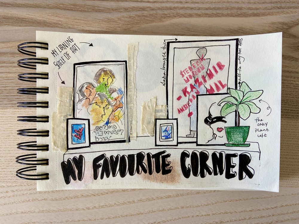 Illustrated Journal (by a non illustrator) - image 6 - student project
