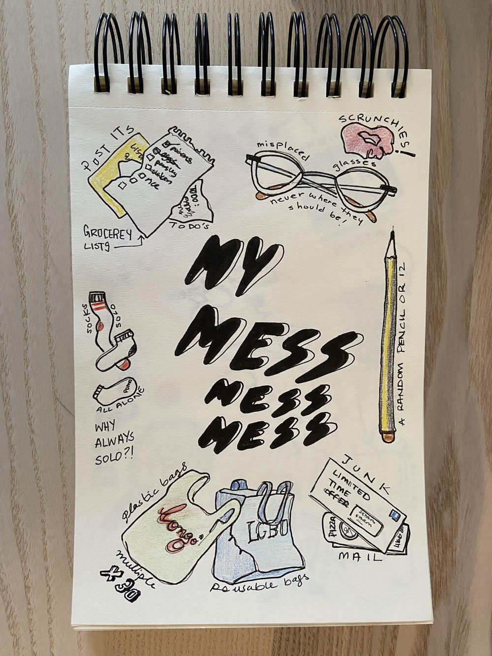 Illustrated Journal (by a non illustrator) - image 2 - student project