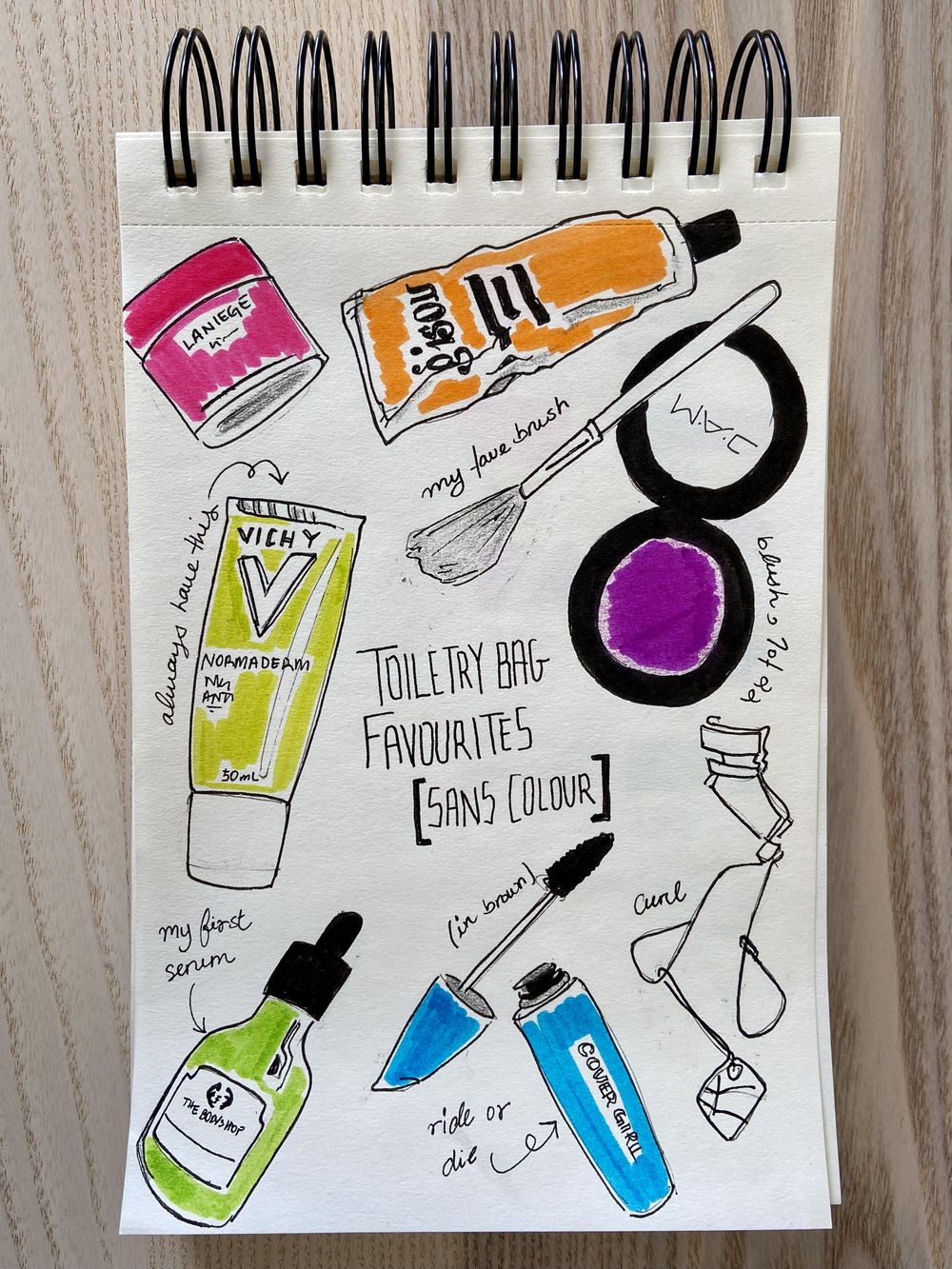Illustrated Journal (by a non illustrator) - image 7 - student project