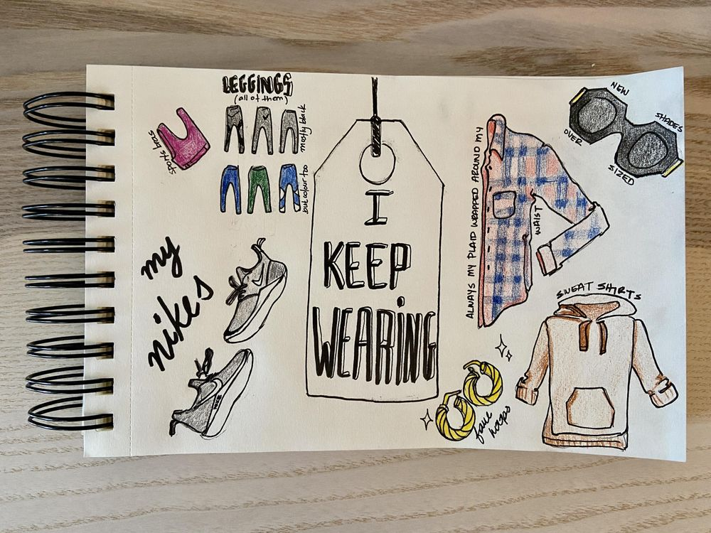 Illustrated Journal (by a non illustrator) - image 4 - student project