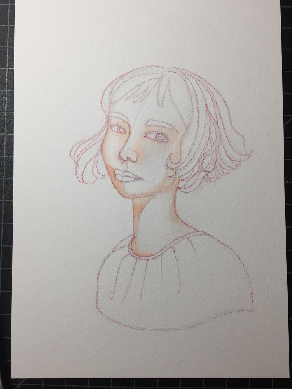 Rainbow Skin Portrait - image 1 - student project