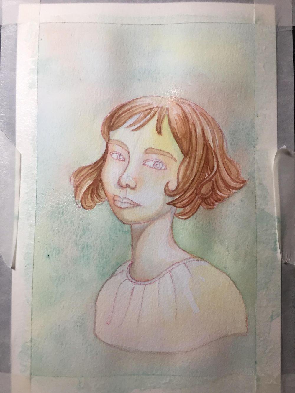 Rainbow Skin Portrait - image 3 - student project