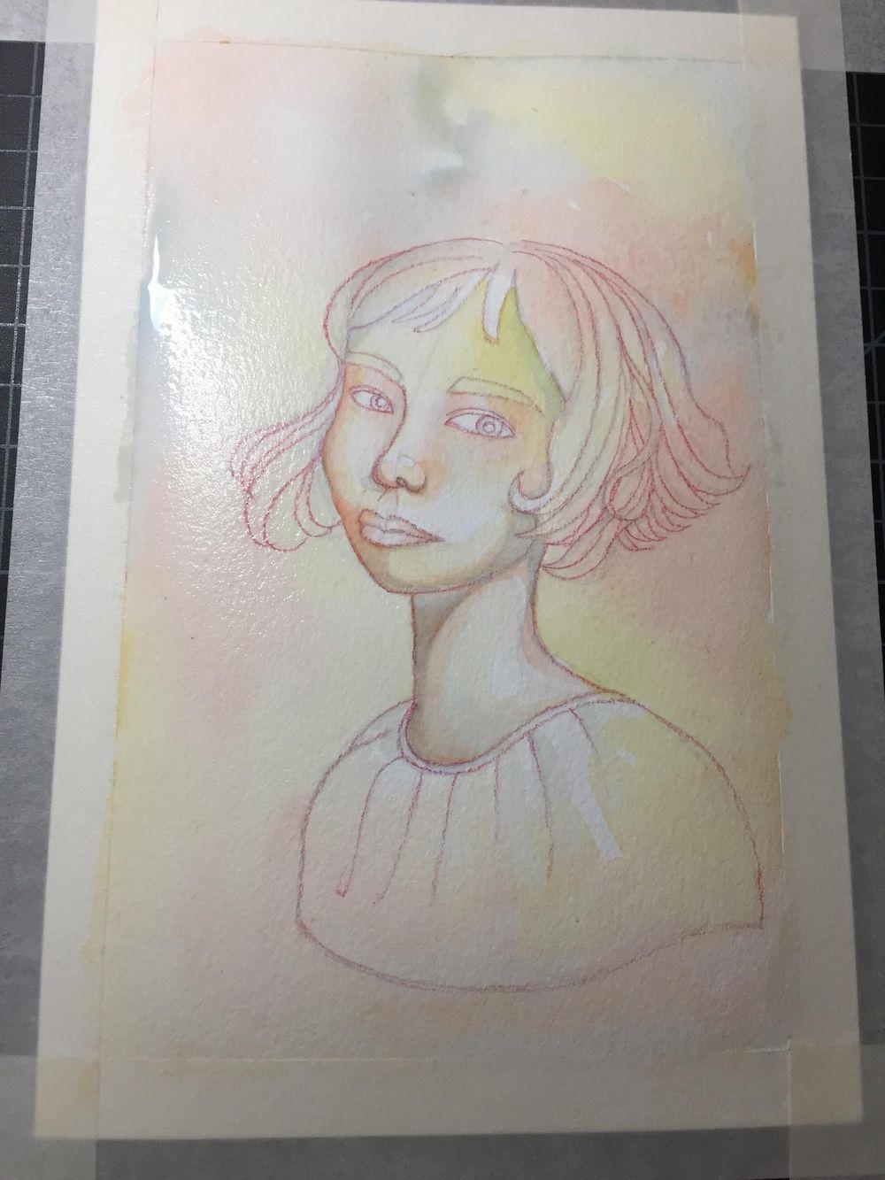 Rainbow Skin Portrait - image 2 - student project