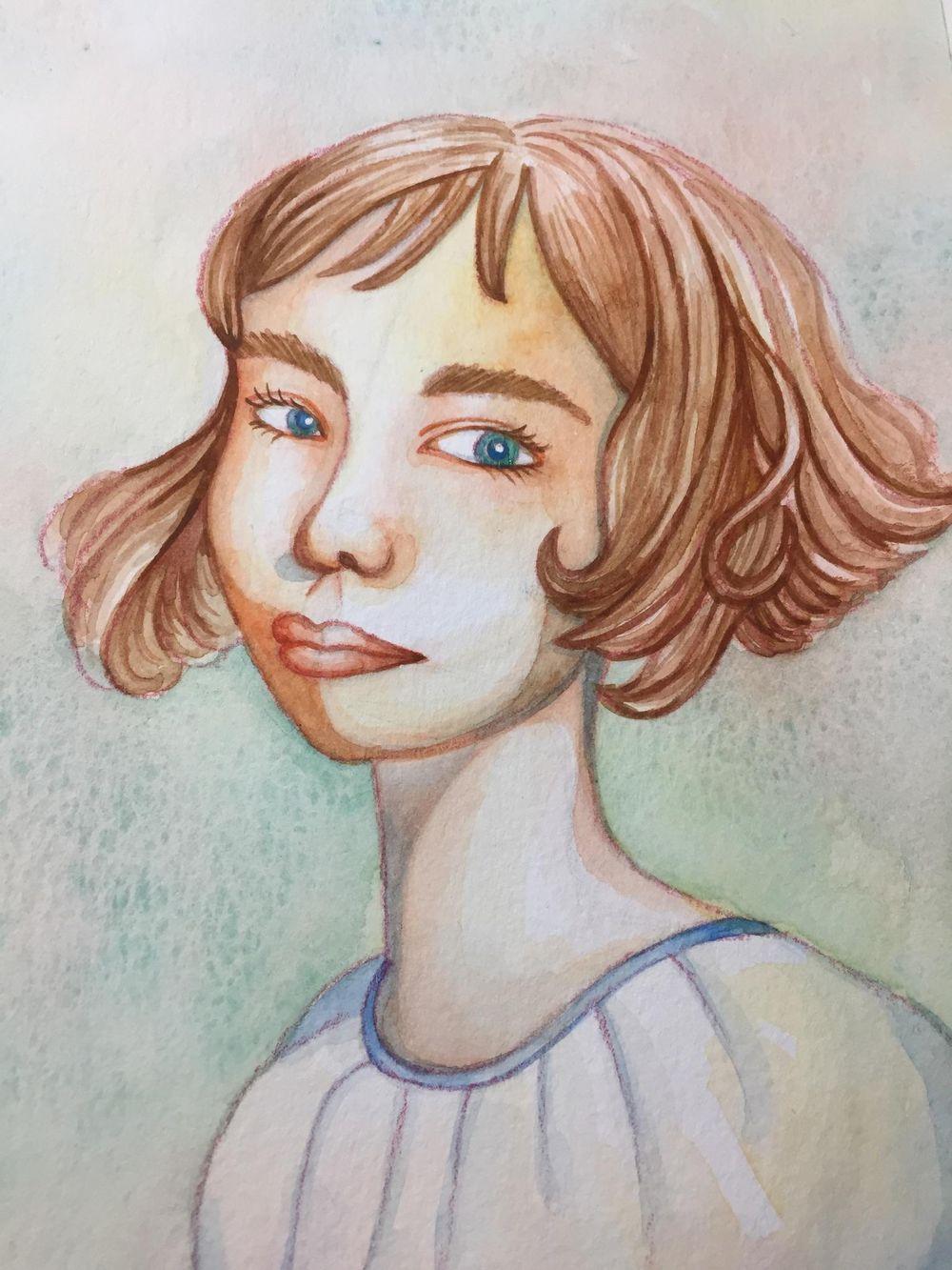Rainbow Skin Portrait - image 4 - student project