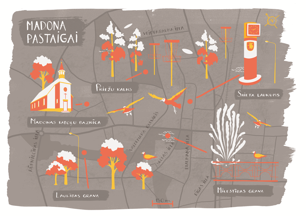 Maps of Madona - image 15 - student project