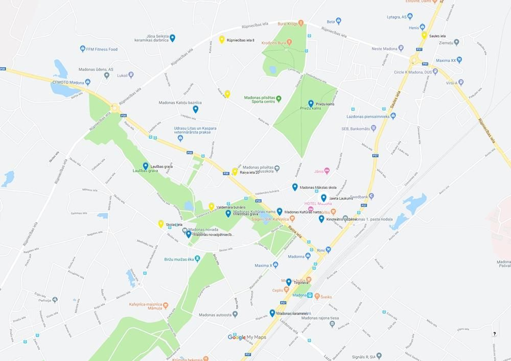 Maps of Madona - image 2 - student project