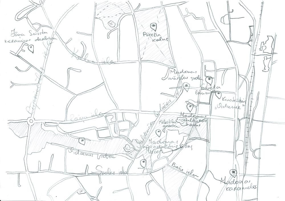 Maps of Madona - image 4 - student project