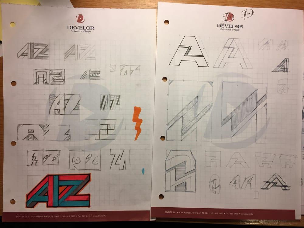AZ logo - image 2 - student project