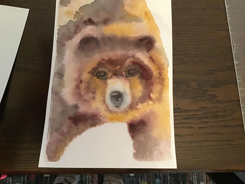 Horse and bear - image 2 - student project