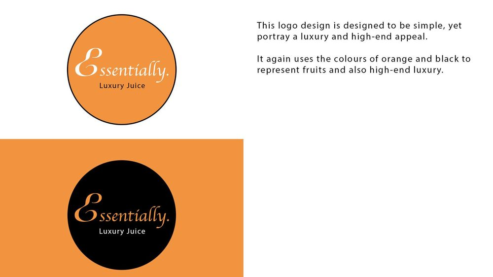 Essentially Logo Design - image 2 - student project