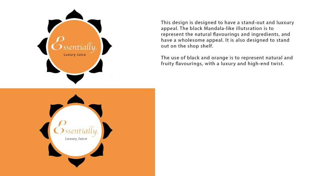 Essentially Logo Design - image 3 - student project