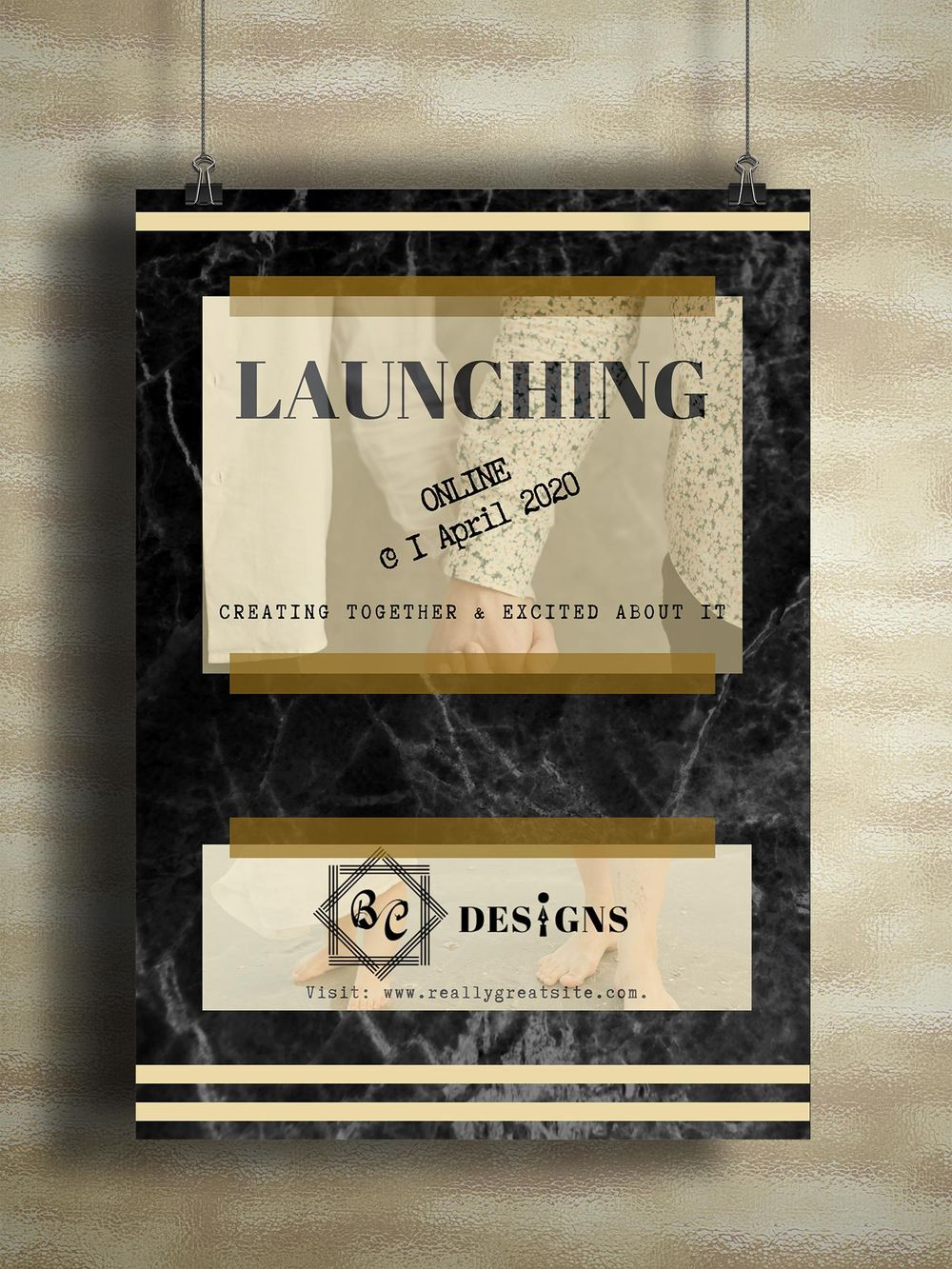 Canva ~ Business Card, Poster, Social Media Post - image 2 - student project