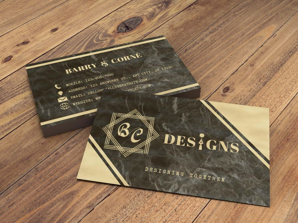 Canva ~ Business Card, Poster, Social Media Post - image 1 - student project