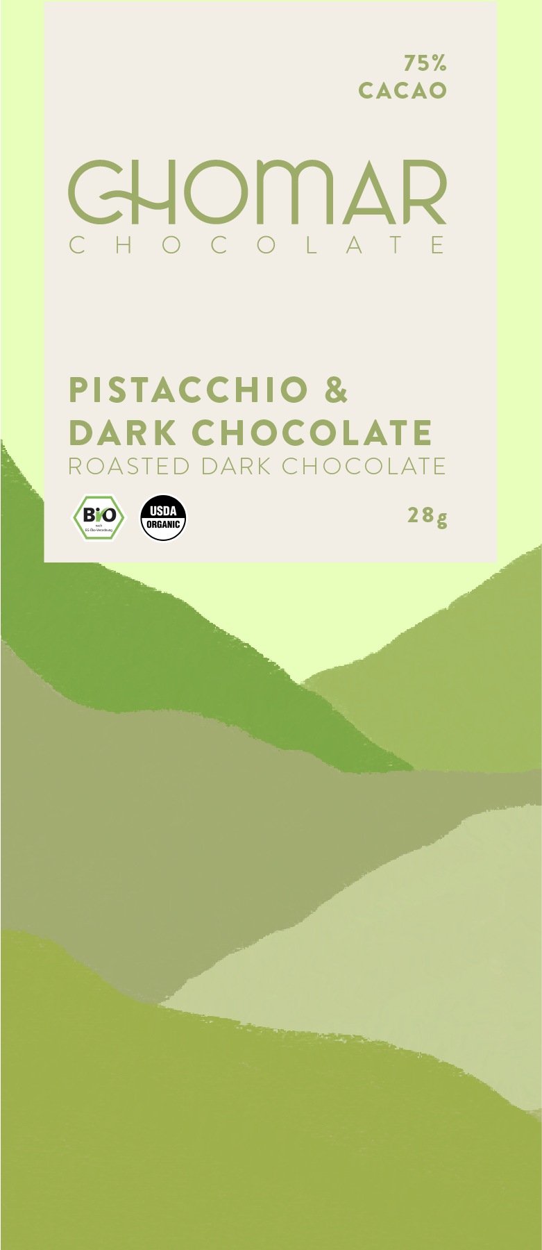 Chomar Chocolate Bar Package Design - image 3 - student project