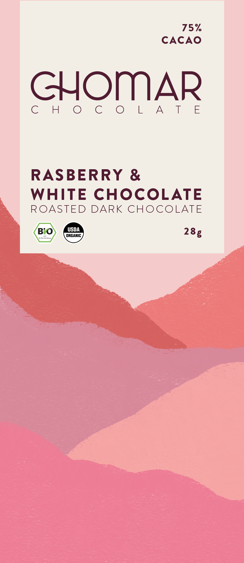 Chomar Chocolate Bar Package Design - image 1 - student project