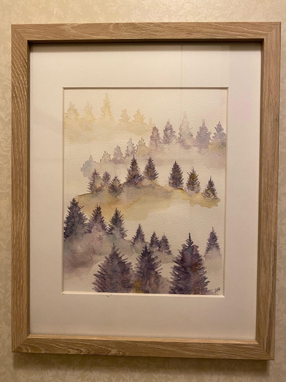 Misty Tree Landscape - image 3 - student project