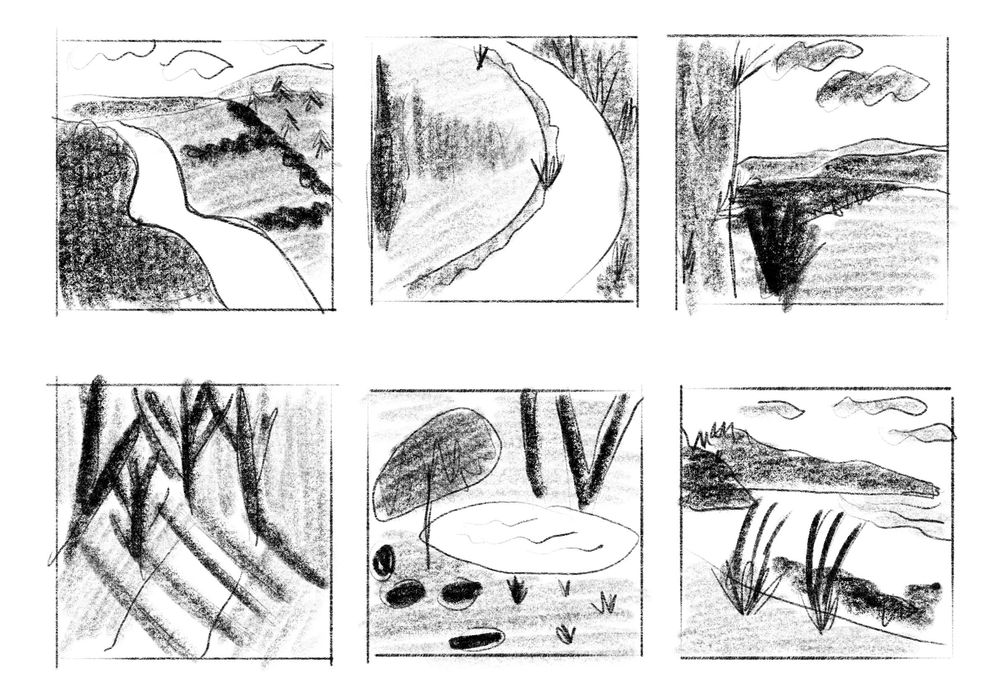 Semi-Abstract Landscapes - image 3 - student project
