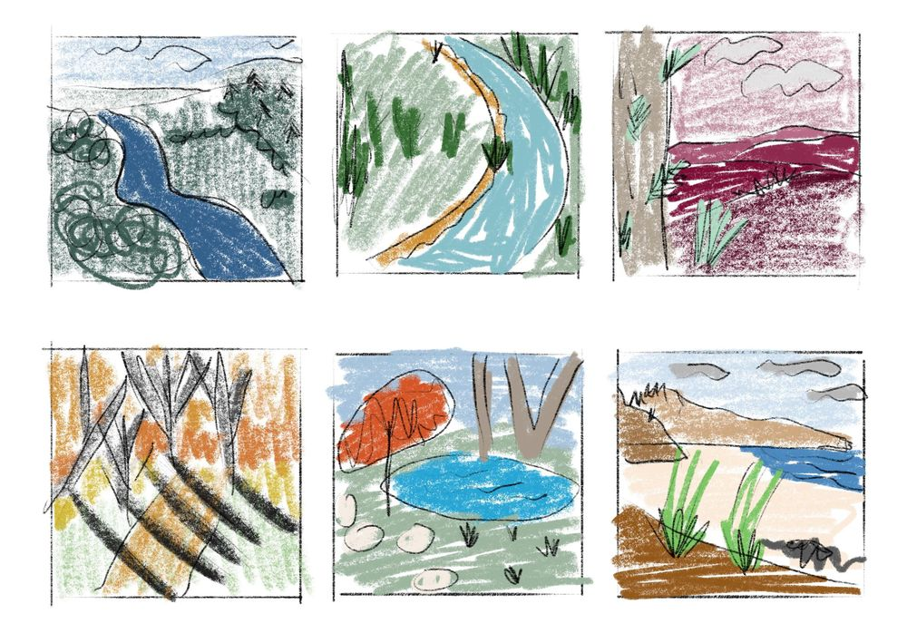 Semi-Abstract Landscapes - image 4 - student project