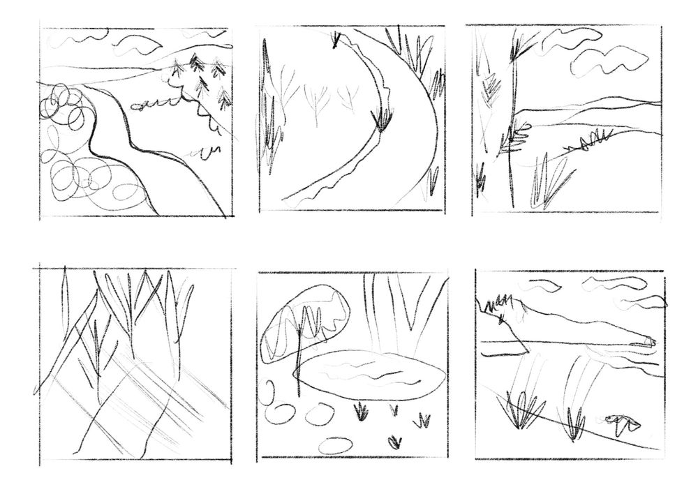 Semi-Abstract Landscapes - image 2 - student project