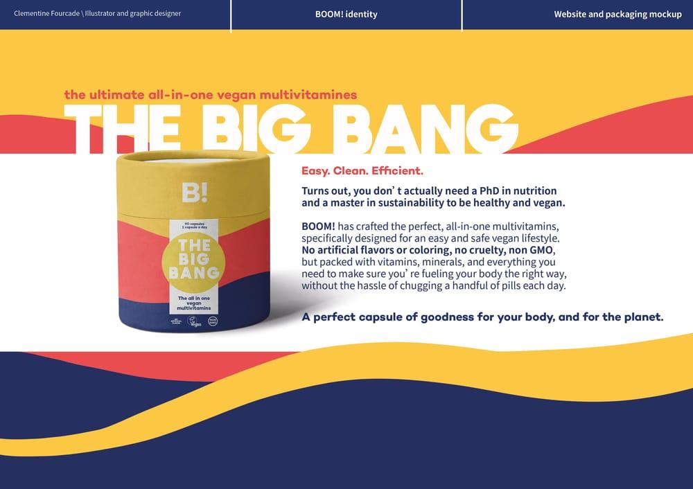 Boom! Vegan vitamins - image 9 - student project