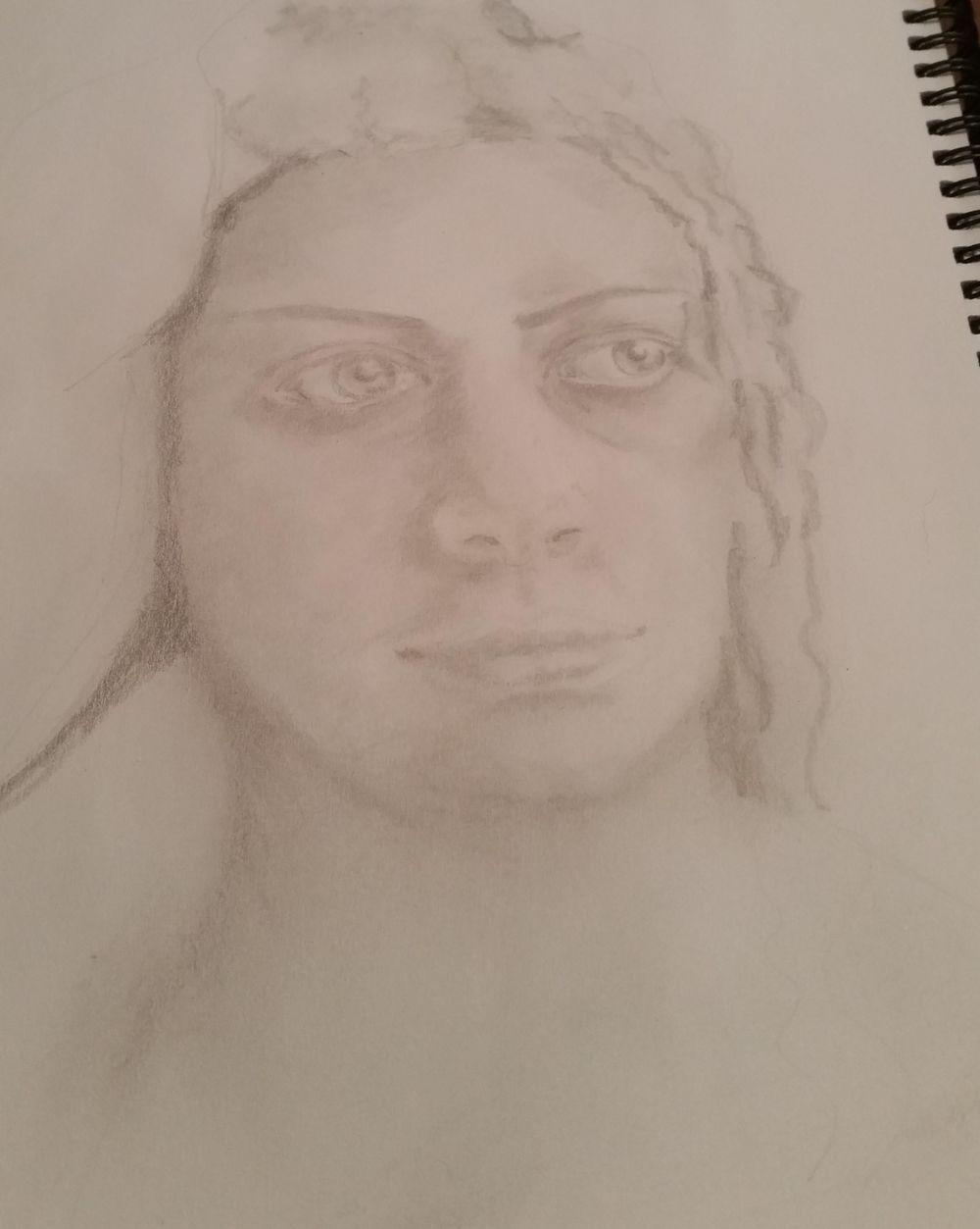 Portrait of a stranger ... - image 2 - student project