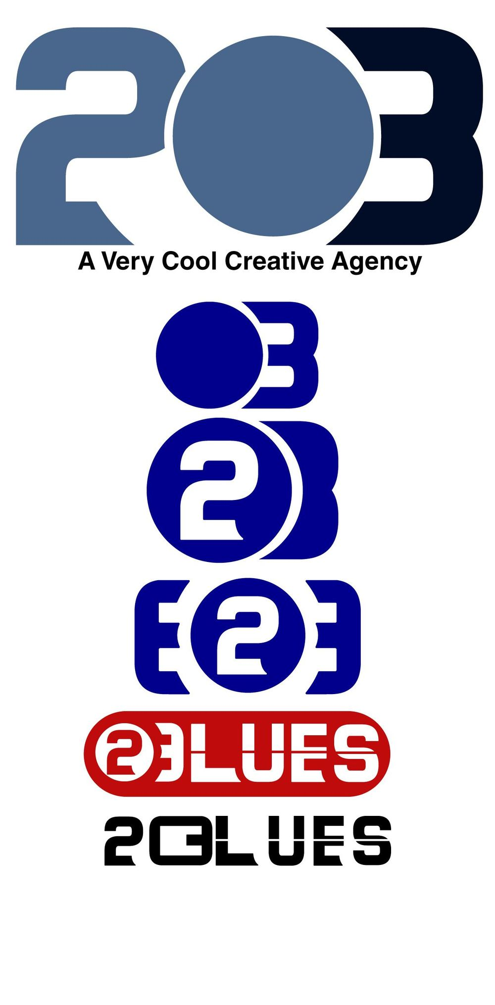 """Brand Identity For An Agency Called """"Twenty Blues"""" - image 3 - student project"""