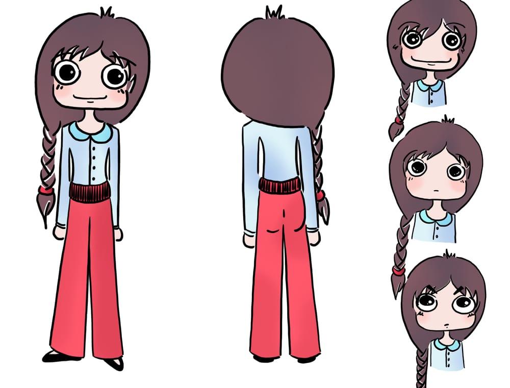My Cartoon (Work in Progress) - image 2 - student project