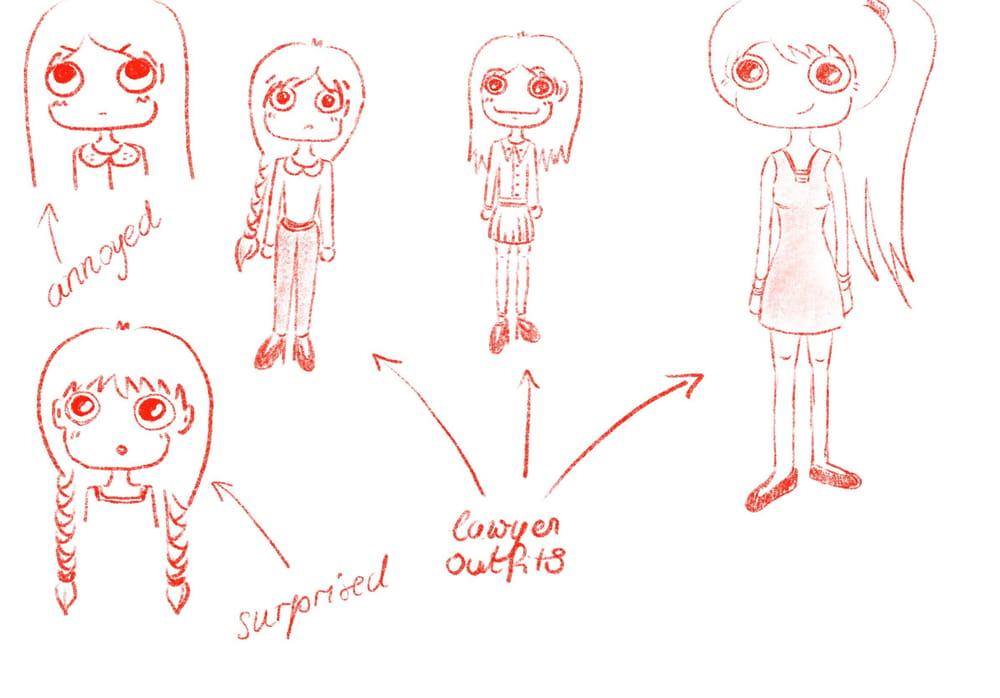 My Cartoon (Work in Progress) - image 1 - student project