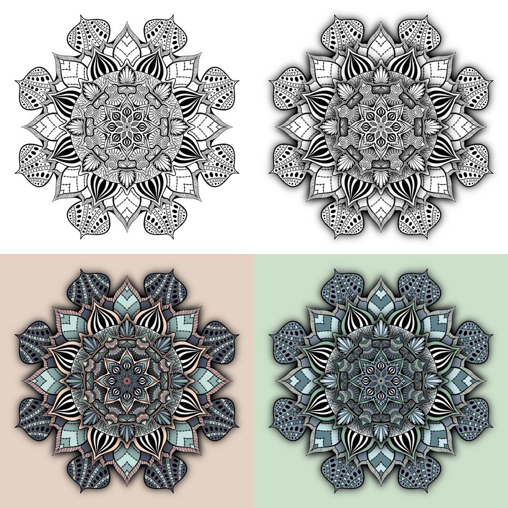 Procreate Mandalas: Sample Project - image 2 - student project