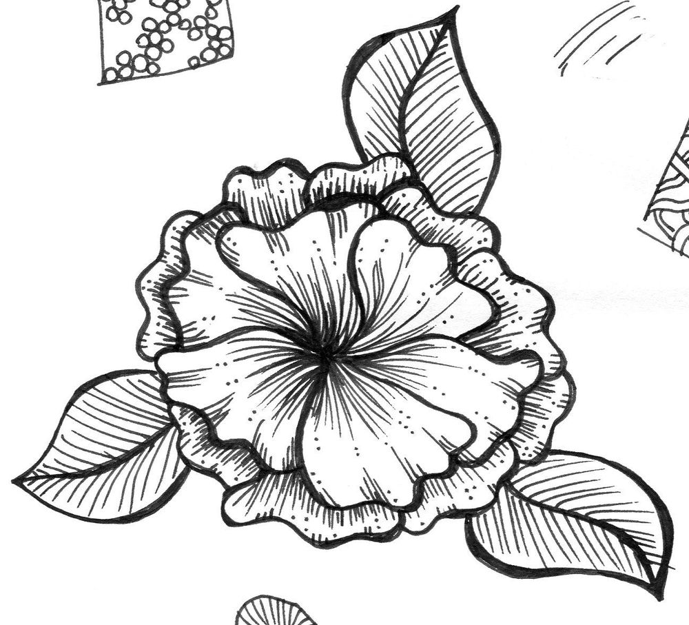 Ink flower - image 3 - student project
