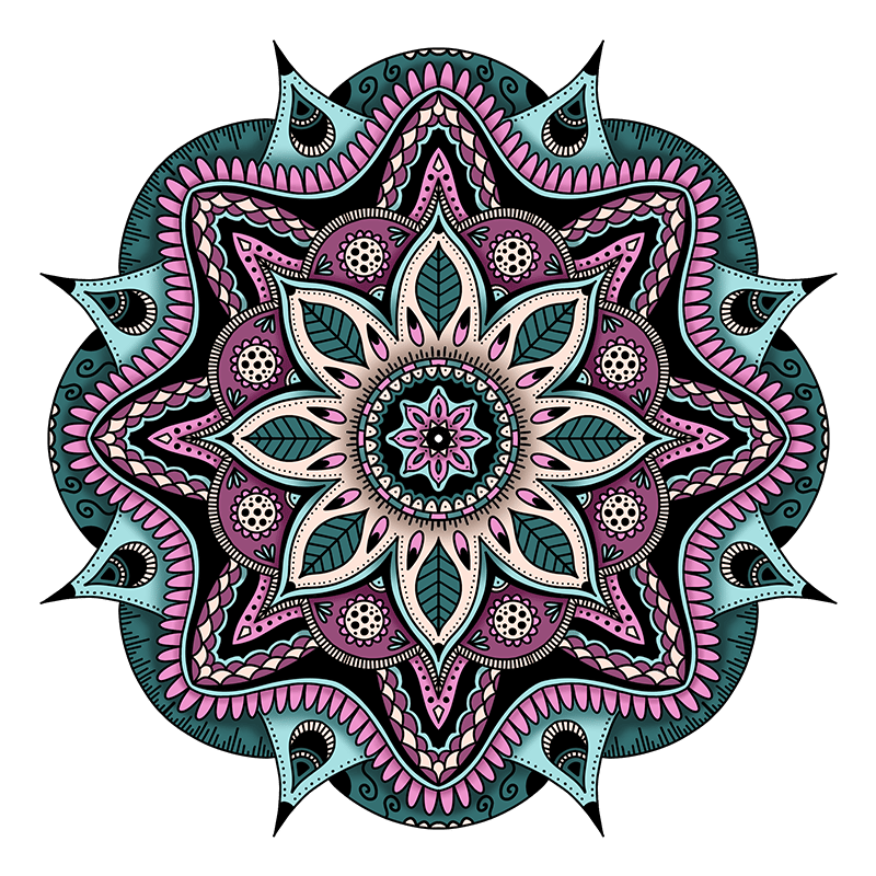 Procreate Mandalas: Sample Project - image 8 - student project