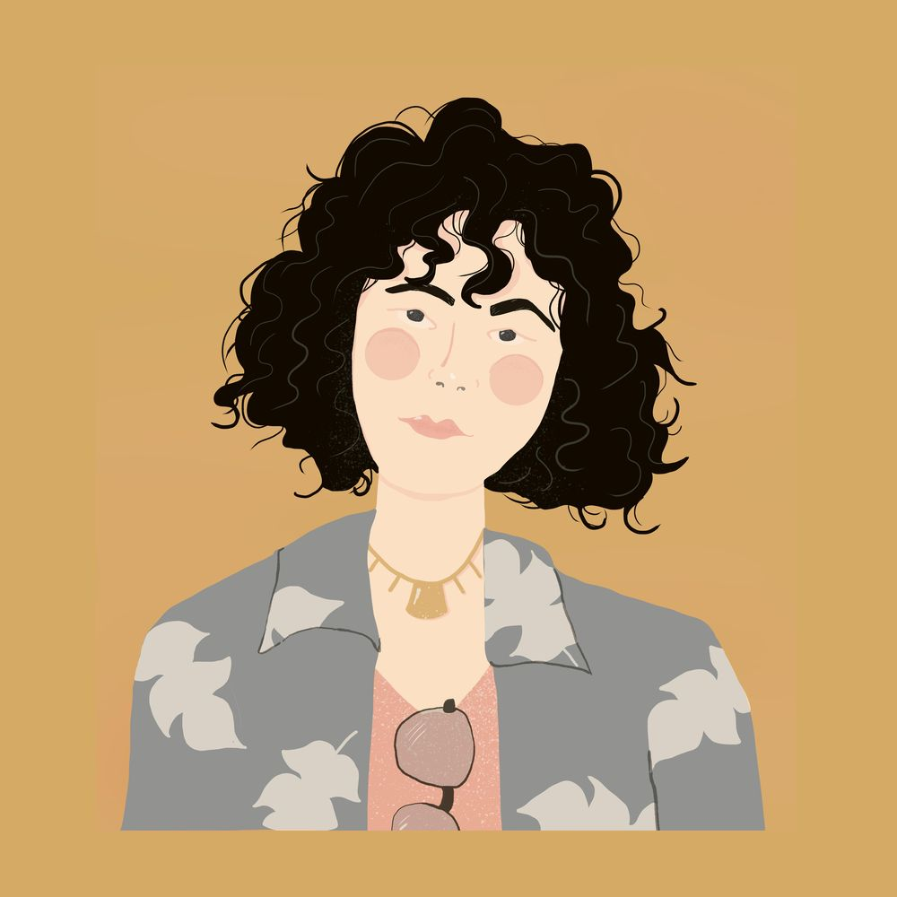 Curly Hair - image 1 - student project