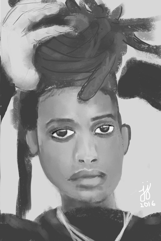 Digital Portrait - image 1 - student project