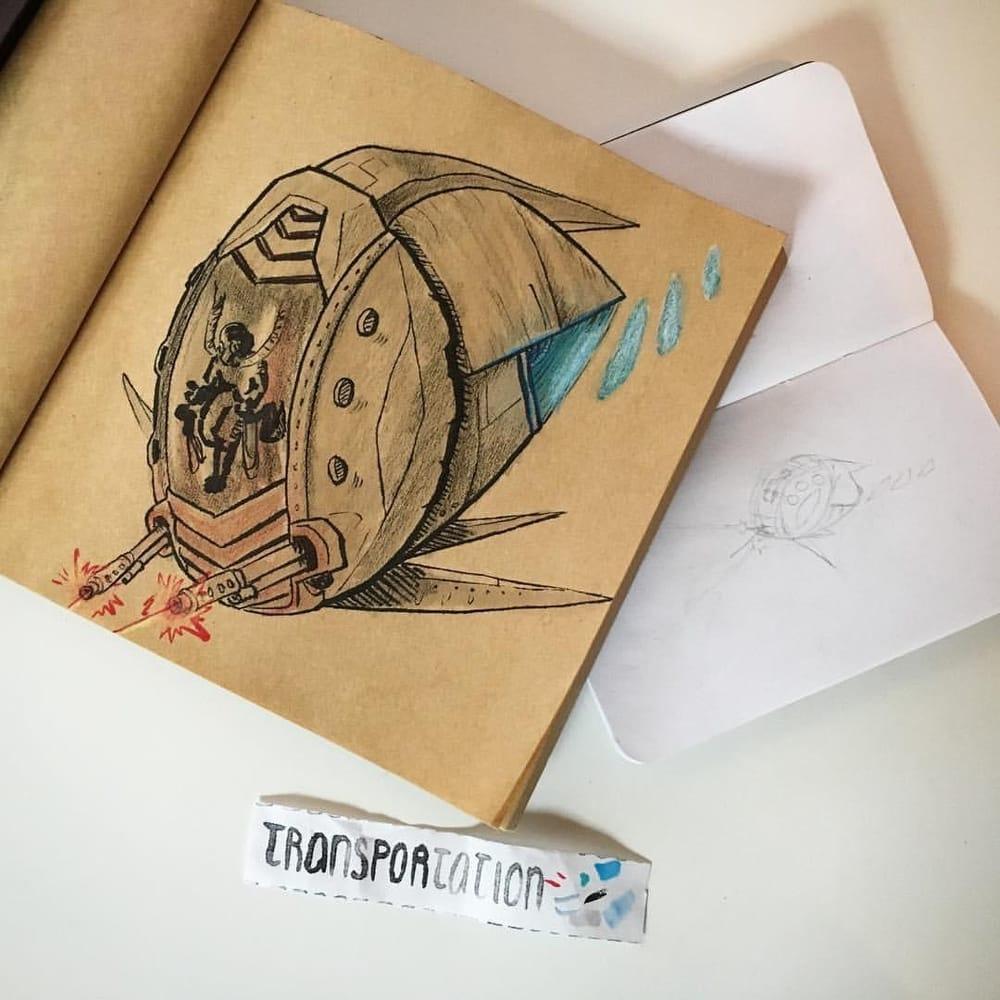 Sketchbook Magic - image 2 - student project