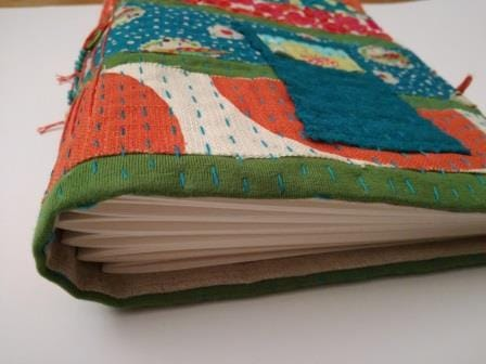 Bookbinding project Kantha style... - image 2 - student project