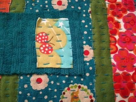 Bookbinding project Kantha style... - image 1 - student project