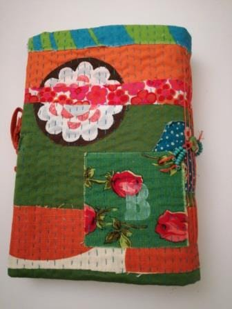 Bookbinding project Kantha style... - image 3 - student project