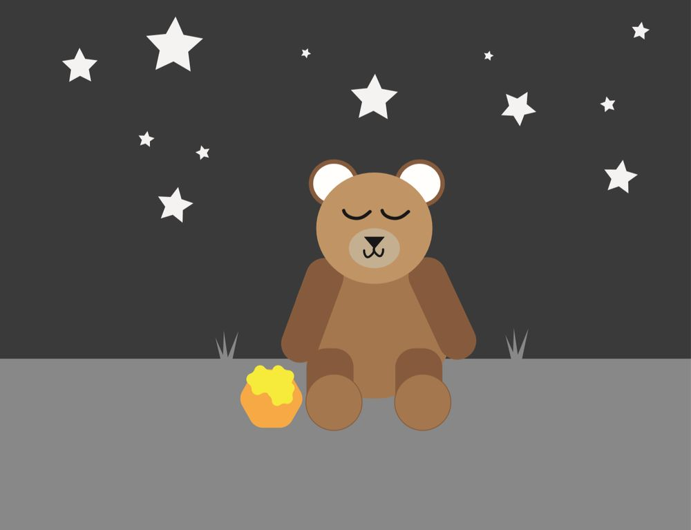Sleeping Ted - image 1 - student project