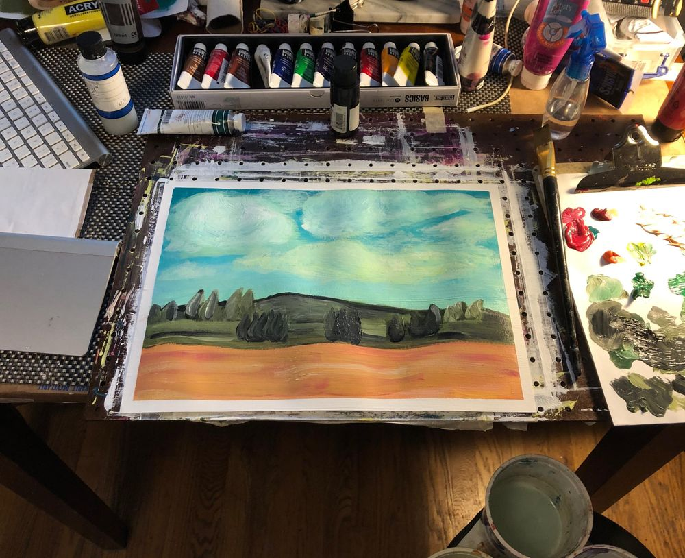 Belgium Impressionist Landscape - image 1 - student project