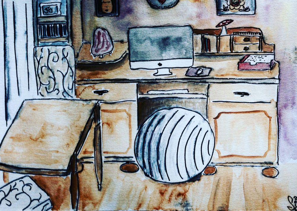 A little sketch of my studio - image 3 - student project