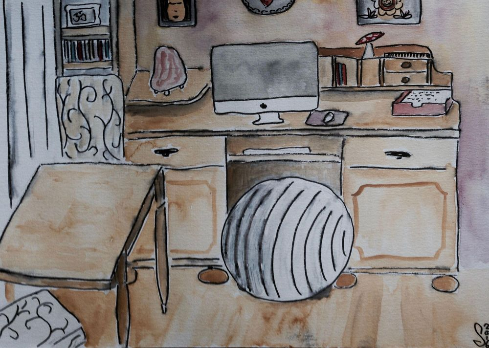 A little sketch of my studio - image 2 - student project