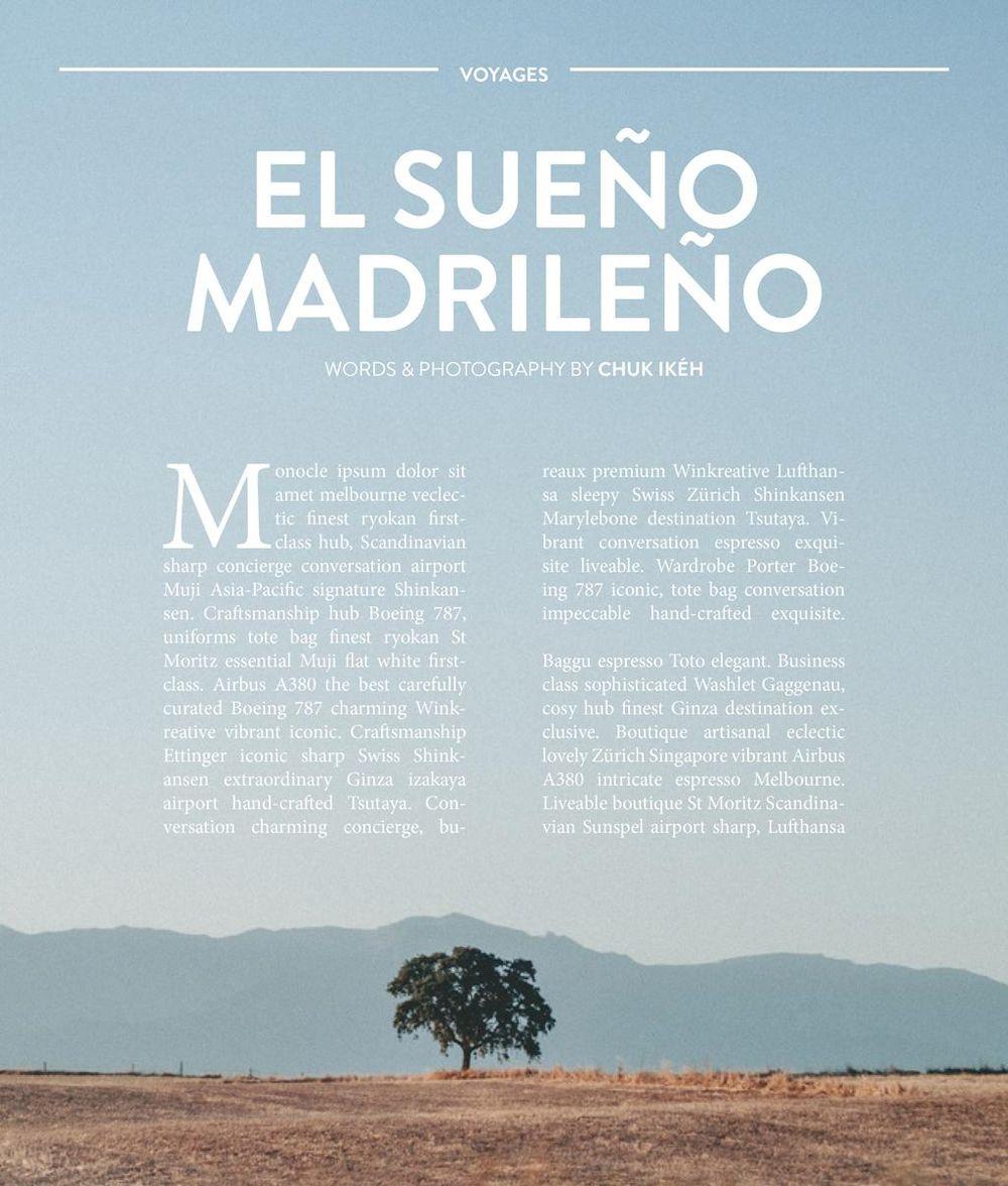 'Skillshare Magazine' Mock Feature Design - image 1 - student project