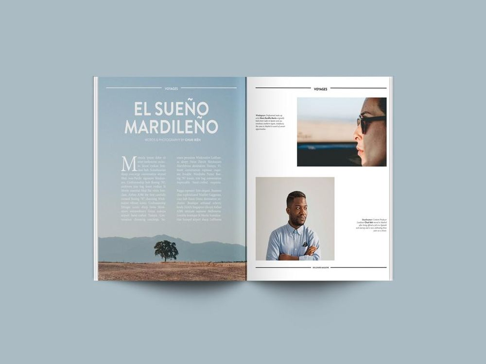 'Skillshare Magazine' Mock Feature Design - image 3 - student project