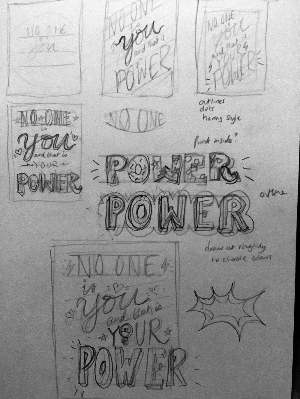 No one is you and that is your power! - image 1 - student project