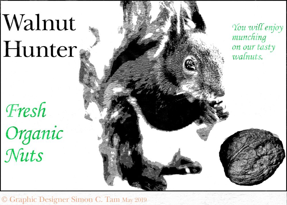 Walnut Hunter (LetterPress) - image 1 - student project