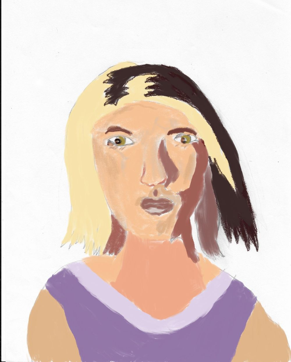 Animated Lady - image 2 - student project