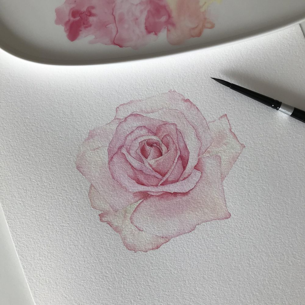 Rose based on the teaching of Louise Demasi - image 2 - student project