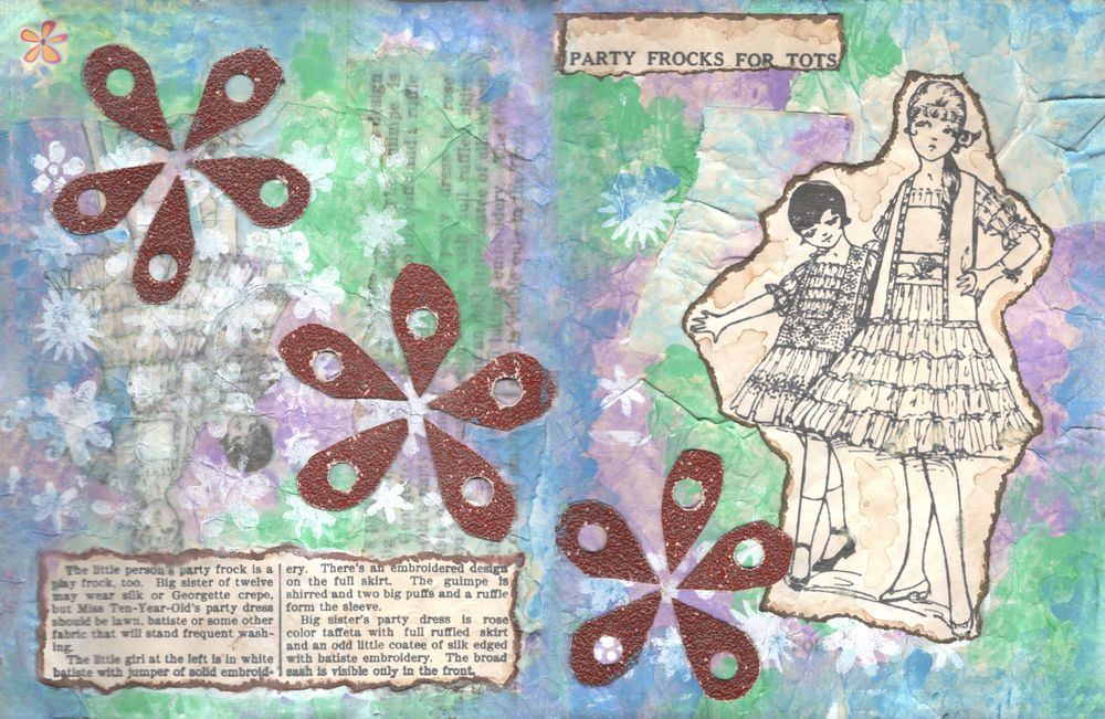Vintage mixed media - image 1 - student project