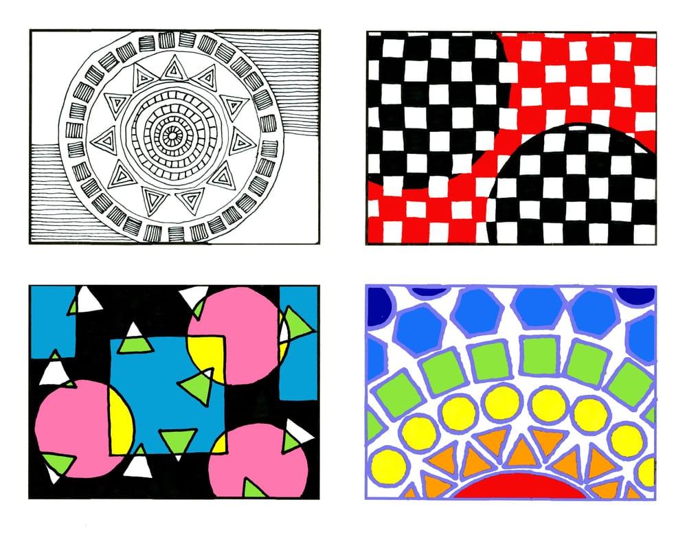 Basic shapes - image 1 - student project
