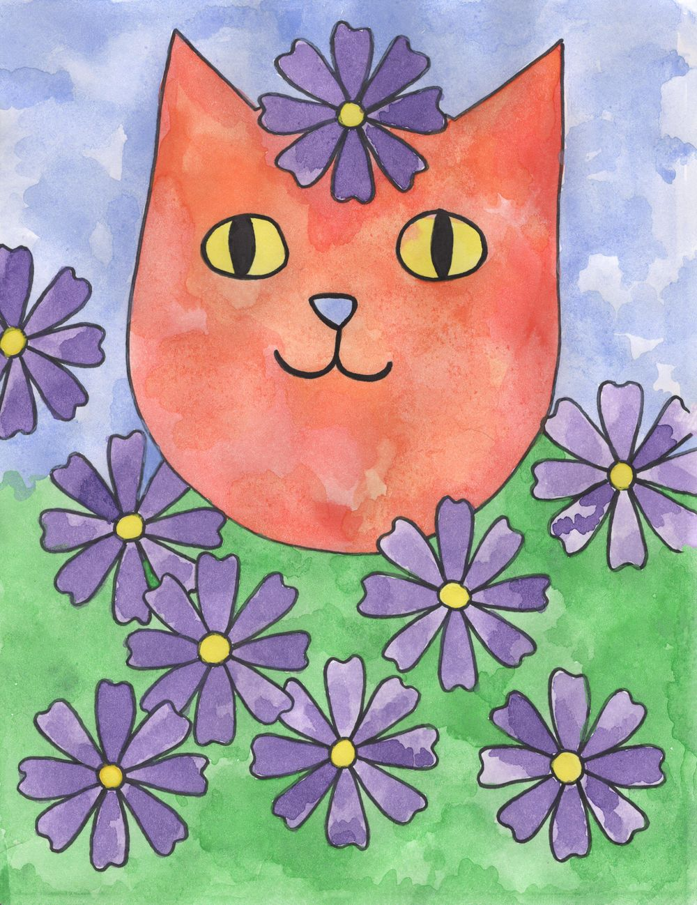 Garden Cat - image 1 - student project